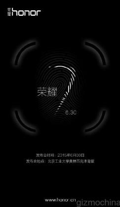 Honor 7 julkistetaan 30. kesäkuuta
