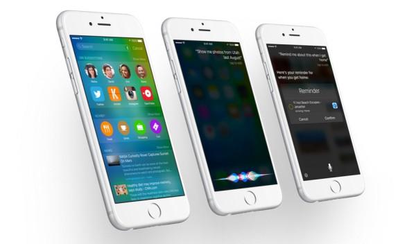iOS 9 ja uudistunut hakunäkymä