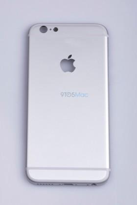 iPhone 6s:n oletettu takakuori vuotokuvassa