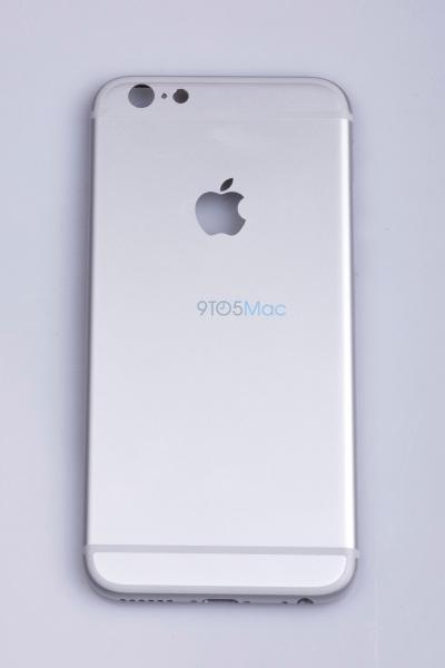 Väitetyssä vuotokuvassa iPhone 6S:n takakuori.