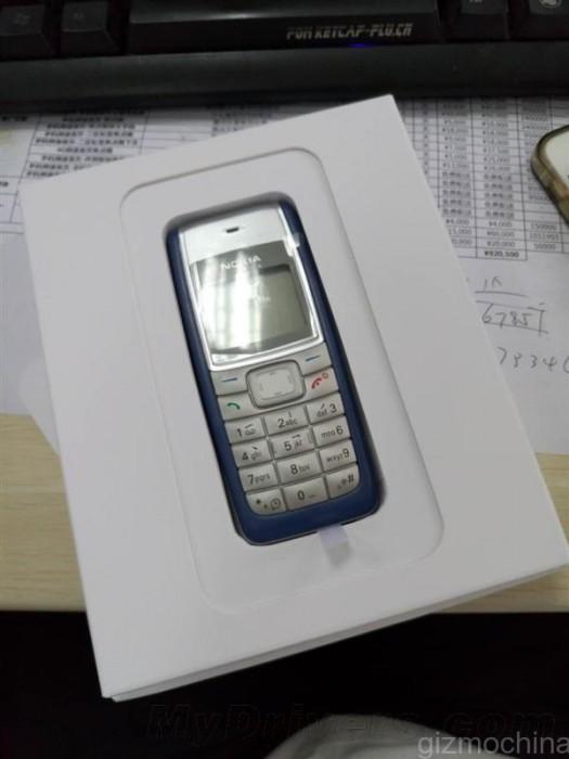 Meizun M2-pressikutsu sisälsi Nokia 1110 -puhelimen