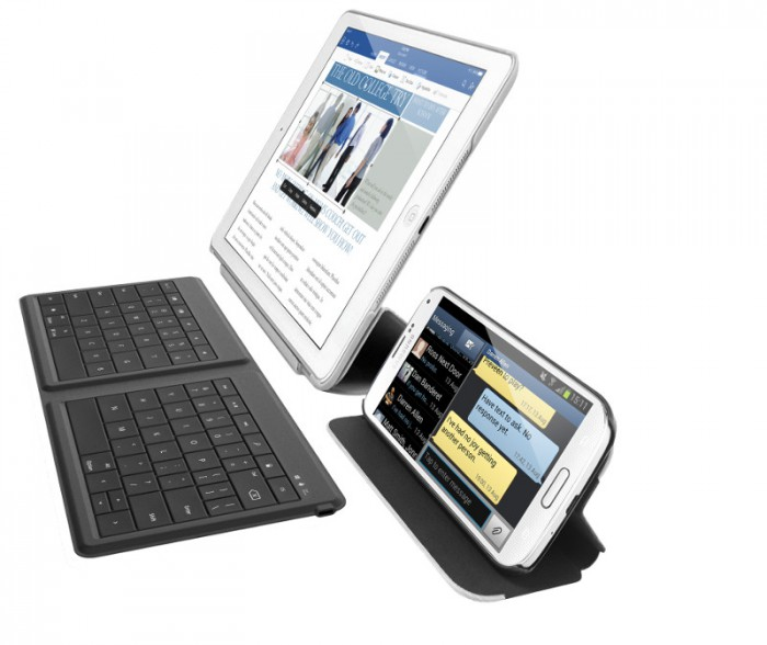 Microsoftin Universal Foldable Keyboard Androidille, iOS:lle ja Windowsille