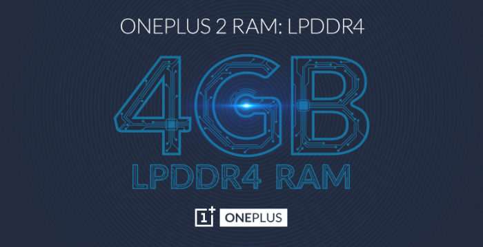 OnePlus 2:n RAM-muistin määrä