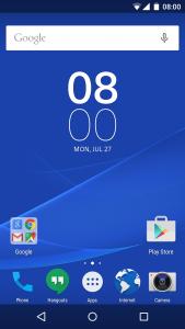Sony tavoittelee puhtaan Androidin tuntumaa