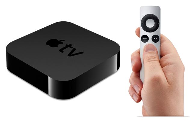 Kolmannen sukupolven Apple TV -mediatoistin.