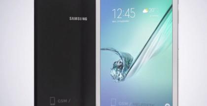 Vuotanut mallikuva Samsung Galaxy Tab S2 -laitteista.