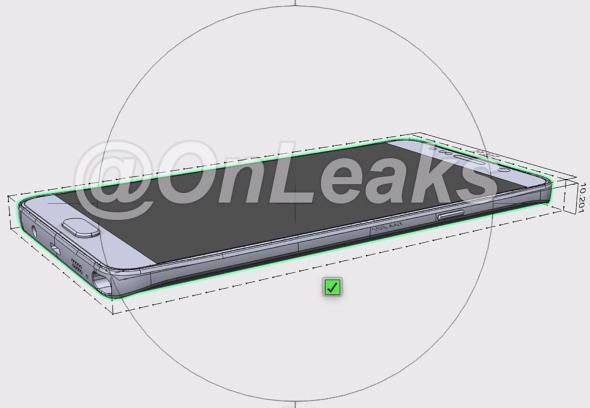 Väitetty Galaxy Note 5