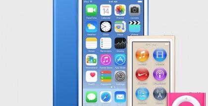 iTunesin uusin versio sisälsi kuvia iPodeista uusissa väreissä.
