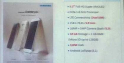 Malesialainen jälleenmyyjä vuosi vielä julkaisemattoman Galaxy A8:n tiedot sivuillaan.