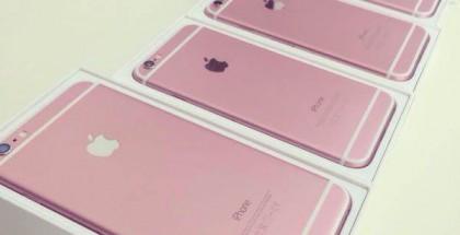 Väitetty iPhone 6s uudessa värisävyssä.