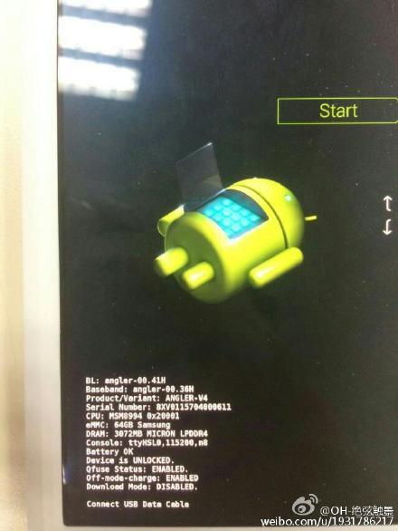 Vuotokuvassa Huawein Nexus 6