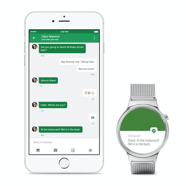 Android Wear -älykellon voi nyt yhdistää myös iPhoneihin