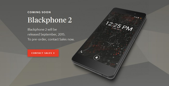 Erityissuojattu Blackphone 2 julkaistaan ensi kuussa