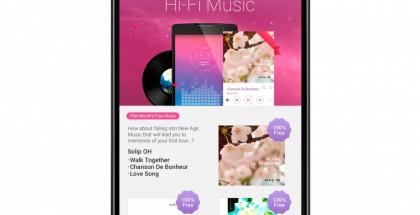 LG:n uusi Hi-Fi-musiikkipalvelu