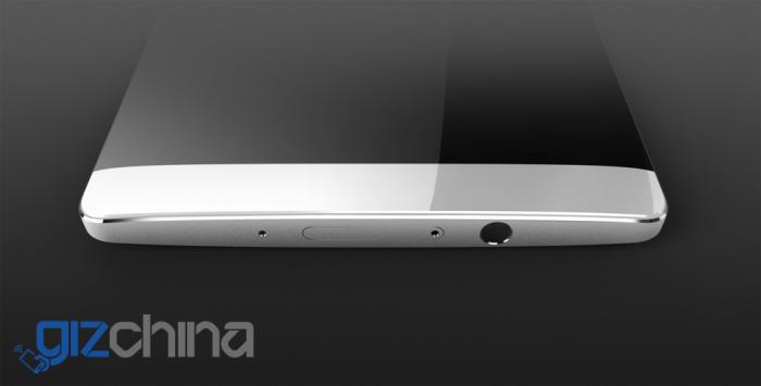 Väitetty Huawei Mate7 Plus vuotokuvassa