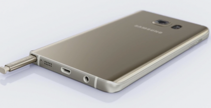Samsung Galaxy Note 5 ja S Pen