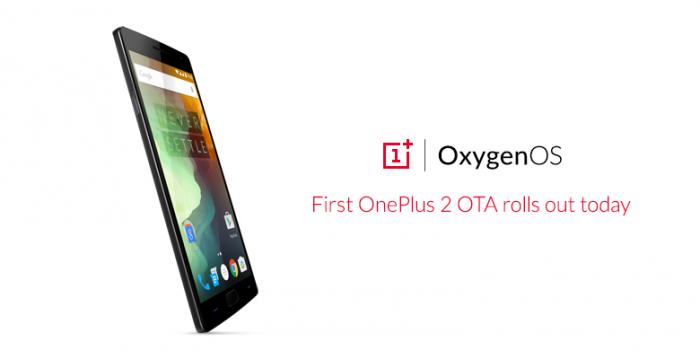 OnePlus 2:n ensimmäinen päivitys lähti jakoon