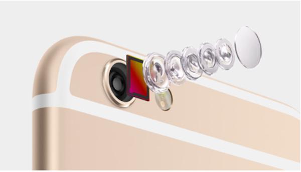 iPhone 6:n kamera