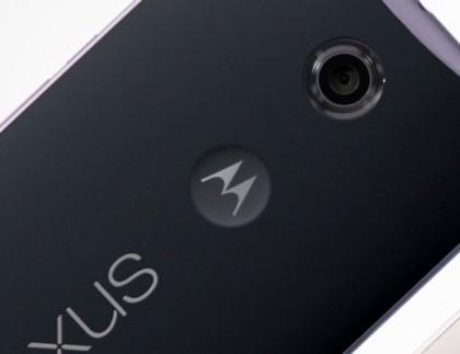 Nexus 6 on Motorola-puhelin.