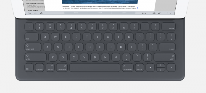 Applen Smart Keyboard iPad Prolle