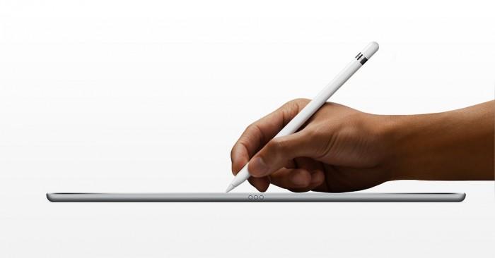 Apple Pencil toimii yhdessä iPad Pron kanssa