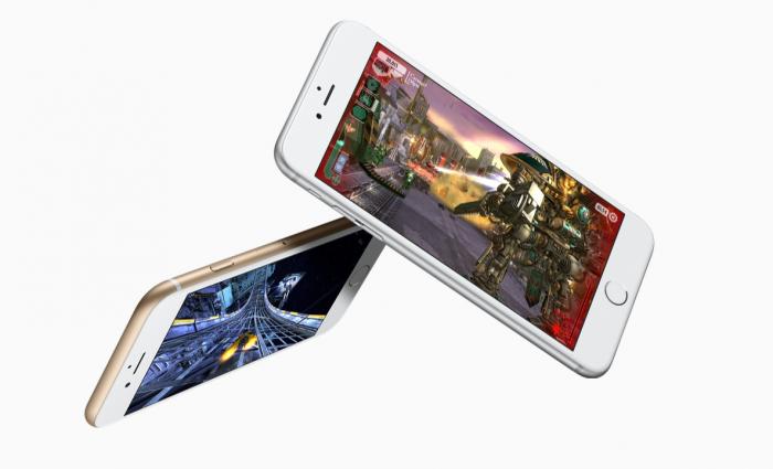 Apple iPhone 6s, sokeriton versio.