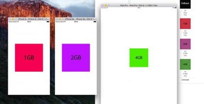 Kehittäjä Hamza Sood onnistui Xcode-työkalusta kaivamaan Applen uusien laitteiden RAM-muistimäärät esille.