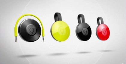Chromecast 2 ja Chromecast Audio.