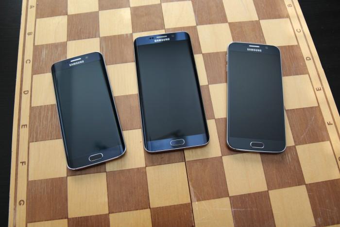 Sisarukset Galaxy S6 edge, S6 edge+ ja S6