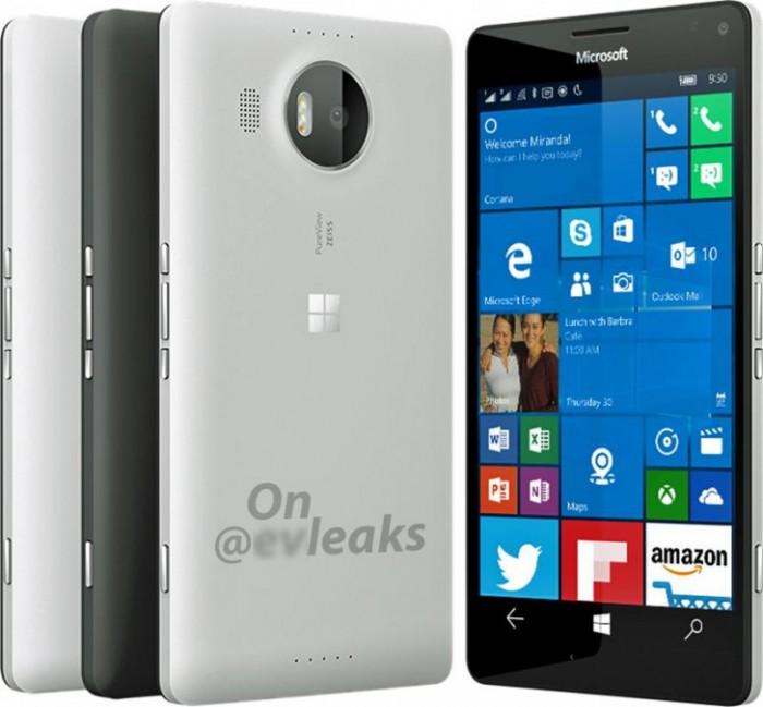 Lumia 950 XL vuotokuvassa