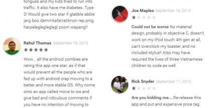 Move to iOS -kommentteja on paljolti kahdenlaisia. Välimuotoja nähdään hyvin vähän.