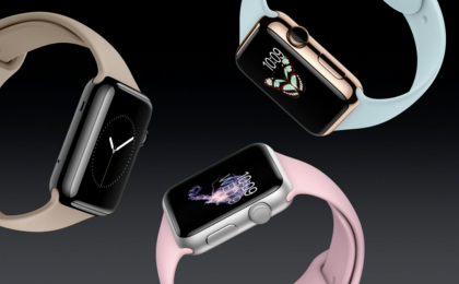 Apple Watchin uusia rannekevärejä ja kultaiset ja ruusunkultaiset Sport-mallit