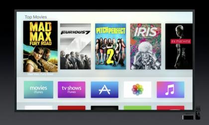 Apple TV:n uusi käyttöliittymä