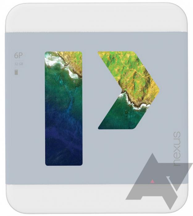 Nexus 6P:n oletettu myyntipakkaus