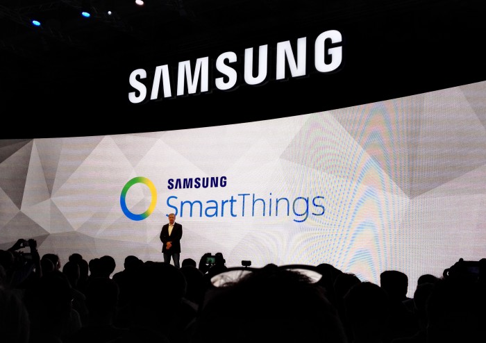 Samsungin pressitilaisuus IFA-messuilla Berliinissä