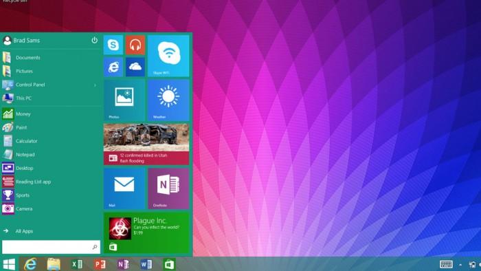 Käynnistä-valikko Windows 8.1 RT:llä Kuva: Thurrot.com