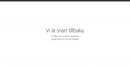 Apple Store - perinteiseen tyyliin kiinni julkistusten alla