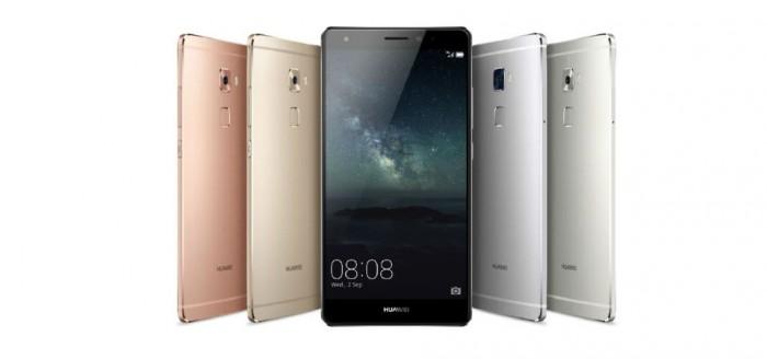 Huawei Mate S eri väreissä