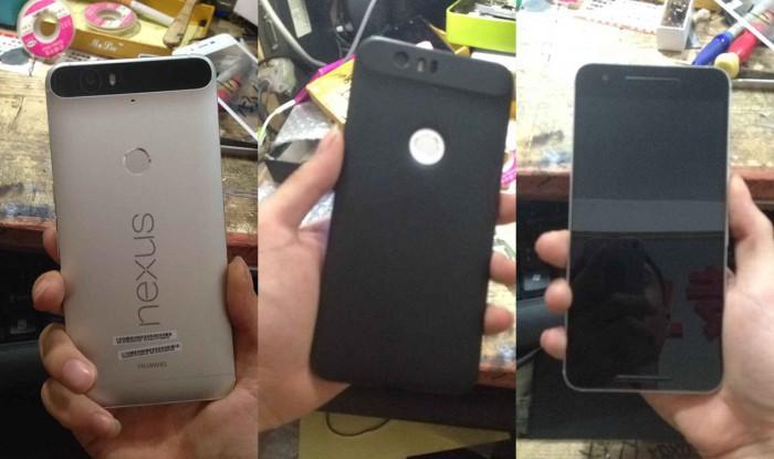 Huawein valmistama Nexus 6P vuotokuvissa.
