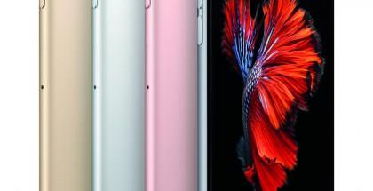 iPhone 6s eri väreissä.
