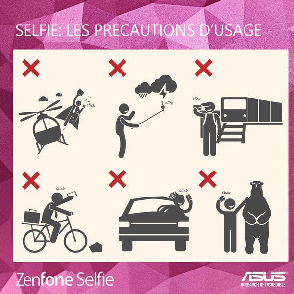 Älä ota selfietä näissä tilanteissa