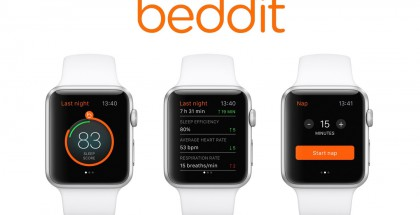 Beddit-unisovellus Apple Watchilla