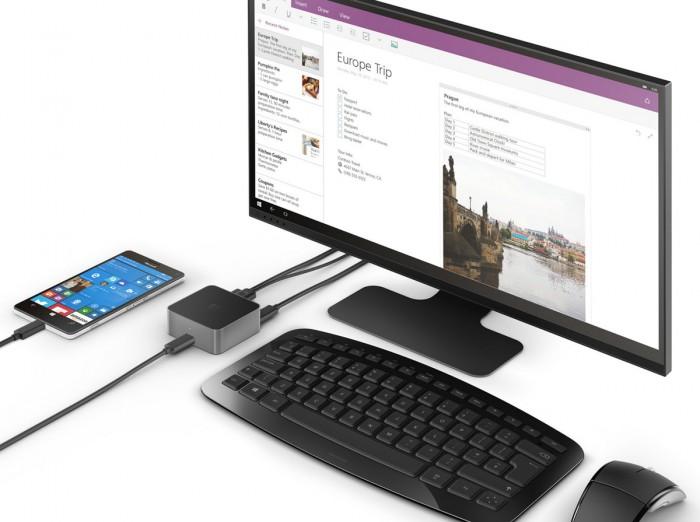 Microsoft Windows 10 Continuum Lumia 950