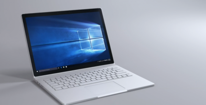 Nykyinen Surface Book.