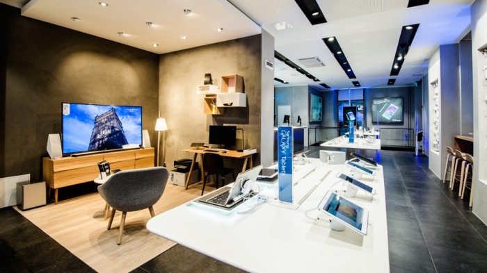 Kuva Samsungin Turun Experience Storesta