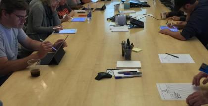 Disney-taiteilijat iPad Pron kimpussa