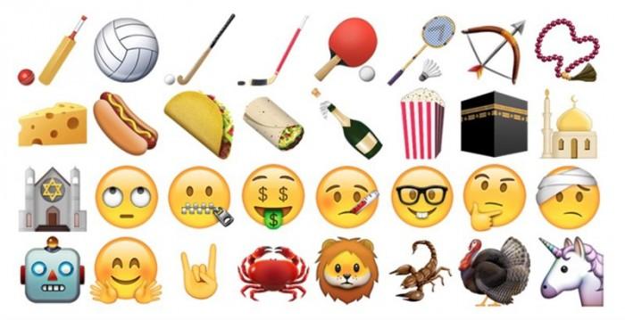iOS 9.1 tuo nipun uusia emoji-kuvia.