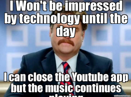 not impressed by youtube 4