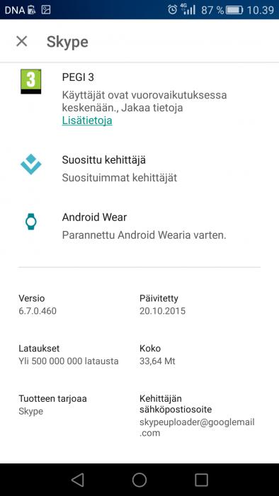 Kelloikoni auttaa tunnistamaan Android Wear -yhteensopivat sovellukset Google Playssa