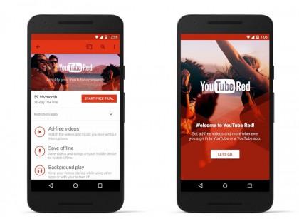 Uusi musiikkisovellus tarjoaa parhaan kokemuksen YouTube Red -tilaajille
